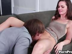 Lily Carter not only sucks but also allows her partner to drill her! tube porn video