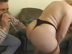 Chubby brit milf anal tube porn video