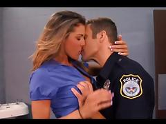 Jackie & The cop tube porn video