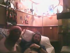 Rough hairy white feeds black bitch cum tube porn video