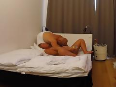 Swedish blonde fucked with a bottle tube porn video
