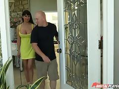 Eva Karera has bigger tits than ever in this fuck scene tube porn video