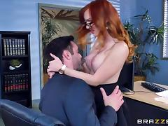 Brazzers - Dani Jensen gets pounded at work tube porn video