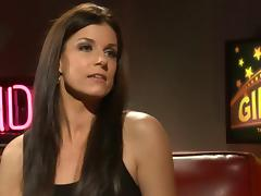 Charming India Summer is a guest on this pornstar talk show tube porn video