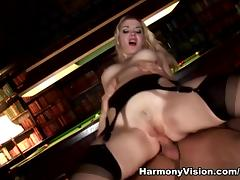 Annette Schwarz in Double Penetrating The Maid - HarmonyVision tube porn video