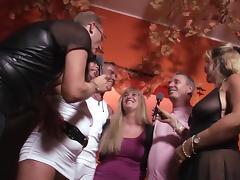German Mature Swingers having fun tube porn video