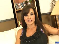 Lisa Ann hires a personal masseuse who rubs her and fucks her tube porn video