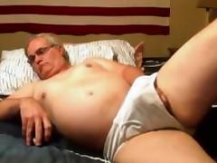 Grandpa stroke on cam 2 tube porn video