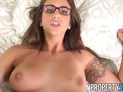PropertySex - Boat captain fucks hot real estate agent tube porn video
