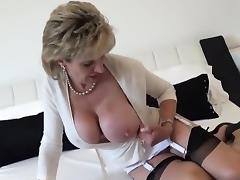Adulterous british mature lady sonia reveals her monster bre tube porn video