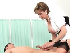 Unfaithful british mature lady sonia shows off her big breas tube porn video