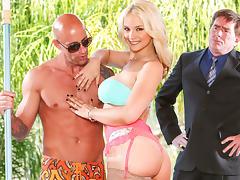 Sarah Vandella in Seduced By The Boss's Wife, Scene #01 tube porn video