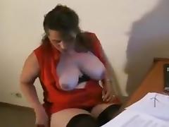German bbw creampie tube porn video