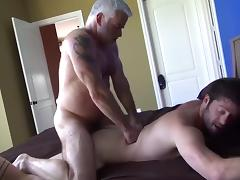 Pleasing grandpa tube porn video