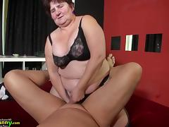 BBW and slim granny gone sexual compilation tube porn video