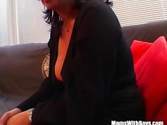 Big Boobed Mature Masturbate And Fucked With Facial tube porn video