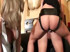 Smoking girls strapon session - 3 tube porn video
