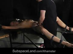 Slave bad attitude painful reaction to bdsm punishment fuck tube porn video