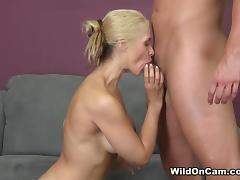 Jay Smooth & Sarah Vandella in Blondie in a Little Black Dress - WildOnCam tube porn video