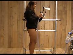 XXX HOT milking ebony - HD tube porn video