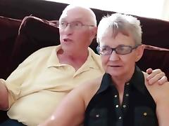 Grandma and grandpa with boy tube porn video