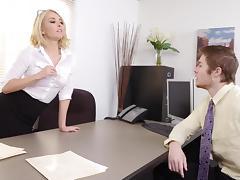 Freaky MILF Aaliyah Love Gives Employee a RAISE tube porn video