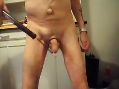 Beating my cock 375 times tube porn video