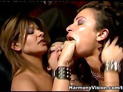 Roxy Jezel in Lesbo Fuck Fest - HarmonyVision tube porn video