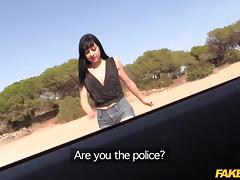 Damaris in Cop Gets Anal Sex in Spanish Hotel - FakeCop tube porn video
