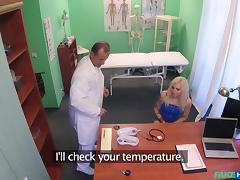 Vanessa Sweet in Tattooed Blonde Loves Doctor's Dick - FakeHospital tube porn video