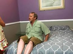 Horny Stepmom Fucks Ugly Dad And Son At The S tube porn video