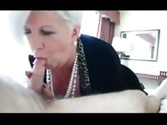 Funny granny awesome blowjob tube porn video