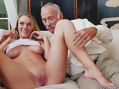 Molly Mae Fucks with Grandpas For Money tube porn video