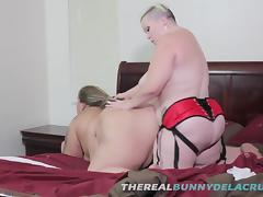 BBW Bunny Drills SSBBW SWTFREAK With Her Big Fat Strap On Di tube porn video