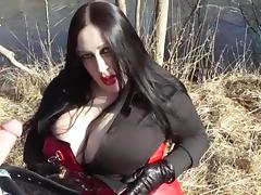 Business Diva Blowing Outdoor - Cum In Her Face tube porn video