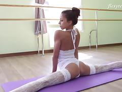 Inessa is not only a ballerina but also a very good solo model! tube porn video