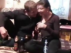 After drinking beer. tube porn video