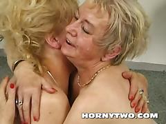 Two fat lesbian grannies licking their old hairy cooches tube porn video