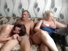 Mature Russian Group Sex tube porn video