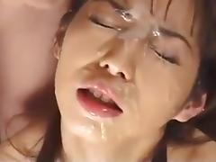 Bukkake gokkun uncensored tube porn video