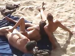 Sex at the beach tube porn video