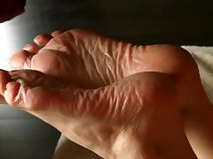 SPERM Therapy for Lyn's Dry Feet - Part 5 (Conclusion). tube porn video