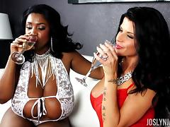 Joslyn James and Maserati XXX in a cool FFM action tube porn video