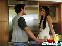 Milf India Summer Gets Banged In Kitchen By Big Rod tube porn video