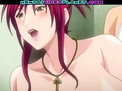 Big Tit Anime Redhead tube porn video