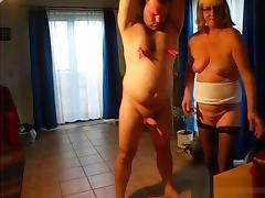 Bea spanks the submissive guy tube porn video