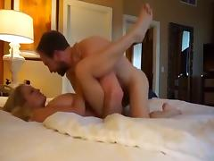 Stunning wifey in hotel room tube porn video