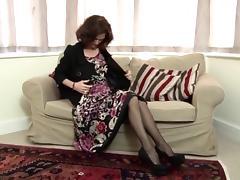 Mature lady tube porn video