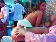 Horny babes dances and fucks at a bride bang party tube porn video