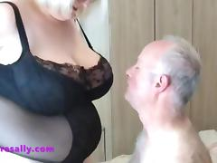 One of Sallys members gets his birthday present tube porn video